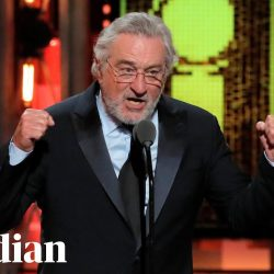 Robert de Niro's 'Freakin' Trump' speech at Tony awards