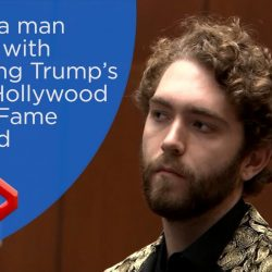 California man charged with destroying Trump's star on Hollywood Walk of Fame arraigned