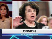 Judge Jeanine Pirro and Senator Feinstein