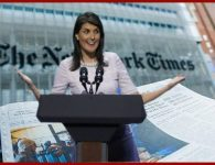 NY Times says Nikki Haley gets $53G curtains – wrong!