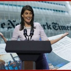 NY Times says Nikki Haley gets $53G curtains – wrong!