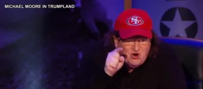 "Michael Moore: Trump May Be Last President; ""Dangerous"""